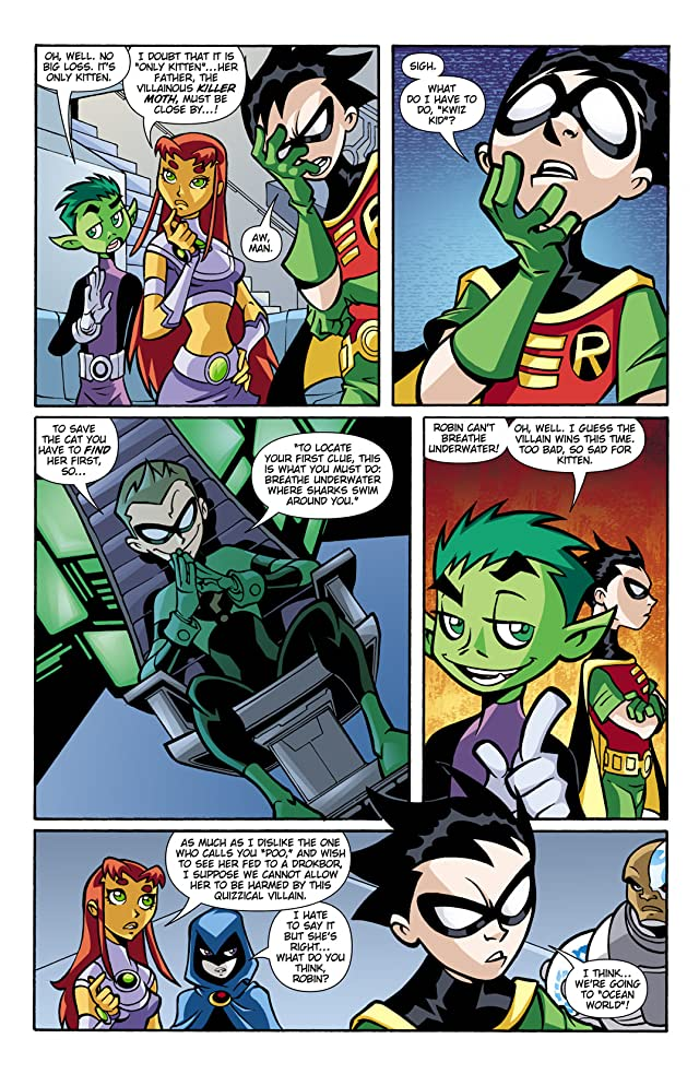 click for super-sized previews of Teen Titans Go! (2004-2008) #15