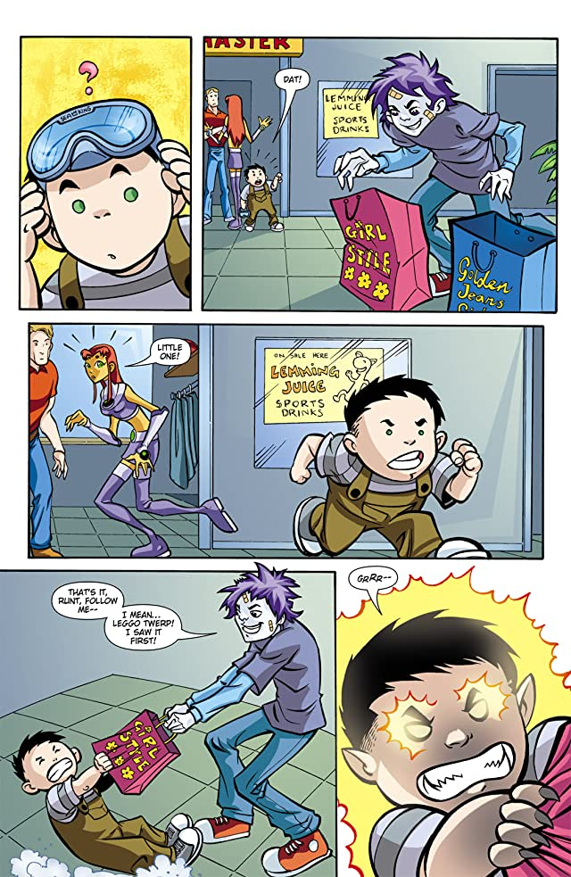 click for super-sized previews of Teen Titans Go! (2004-2008) #16