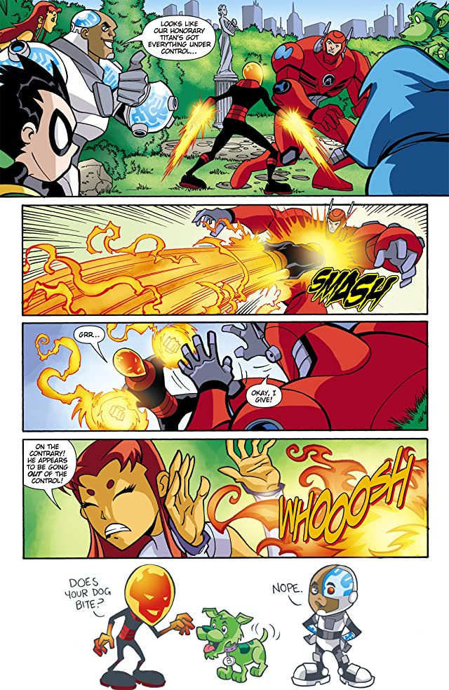 click for super-sized previews of Teen Titans Go! (2004-2008) #17