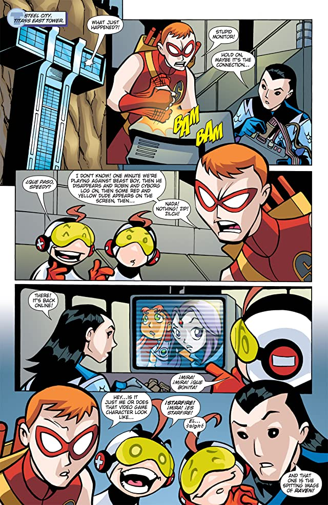 click for super-sized previews of Teen Titans Go! (2004-2008) #20