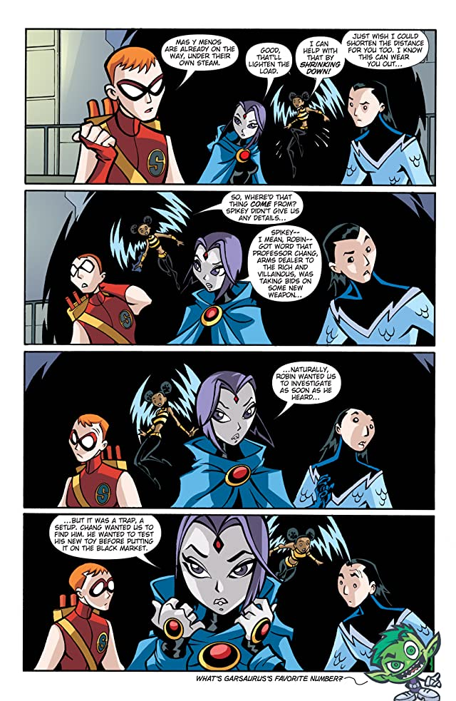 click for super-sized previews of Teen Titans Go! (2004-2008) #21