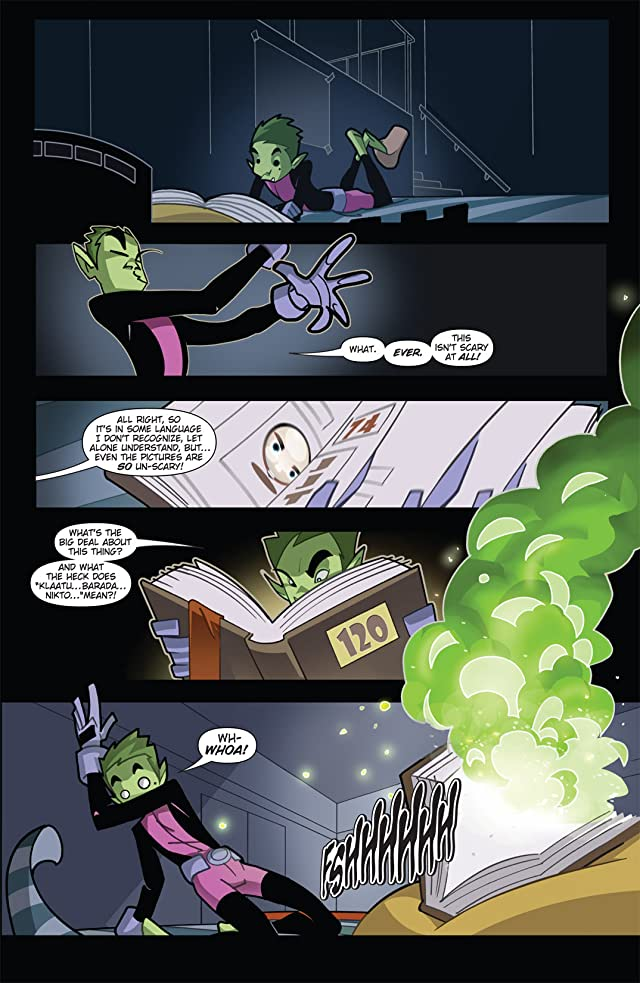 click for super-sized previews of Teen Titans Go! (2004-2008) #22
