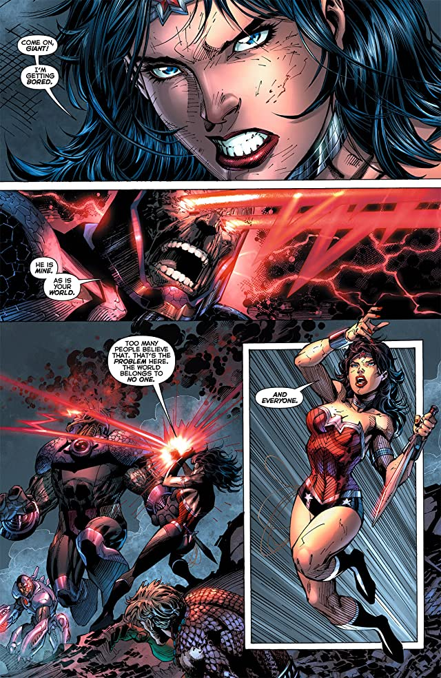 click for super-sized previews of Justice League (2011-) #6
