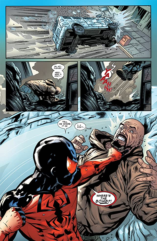 click for super-sized previews of Scarlet Spider #5