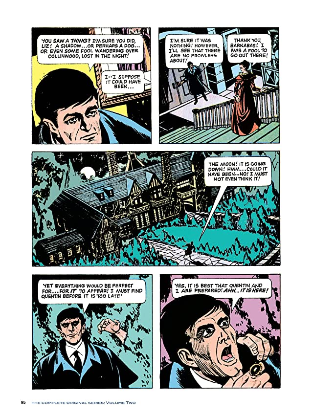 click for super-sized previews of Dark Shadows #11