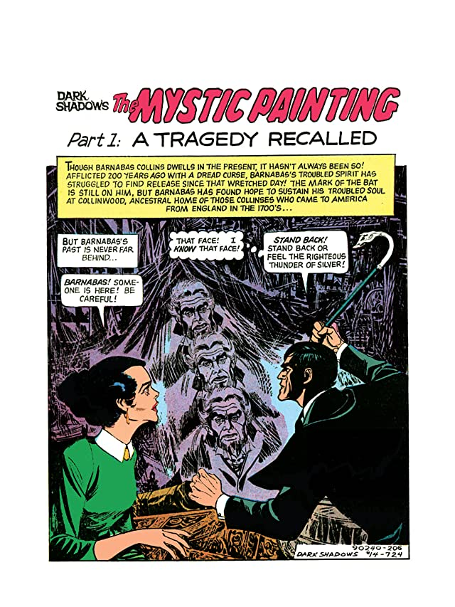 click for super-sized previews of Dark Shadows #14