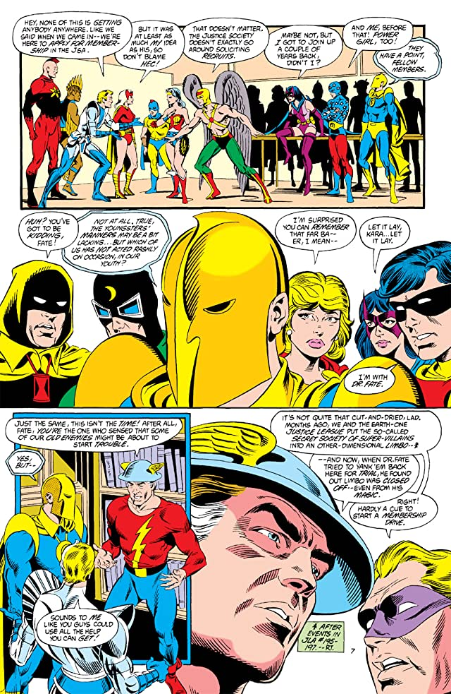 click for super-sized previews of Infinity Inc. (1984-1988) #1