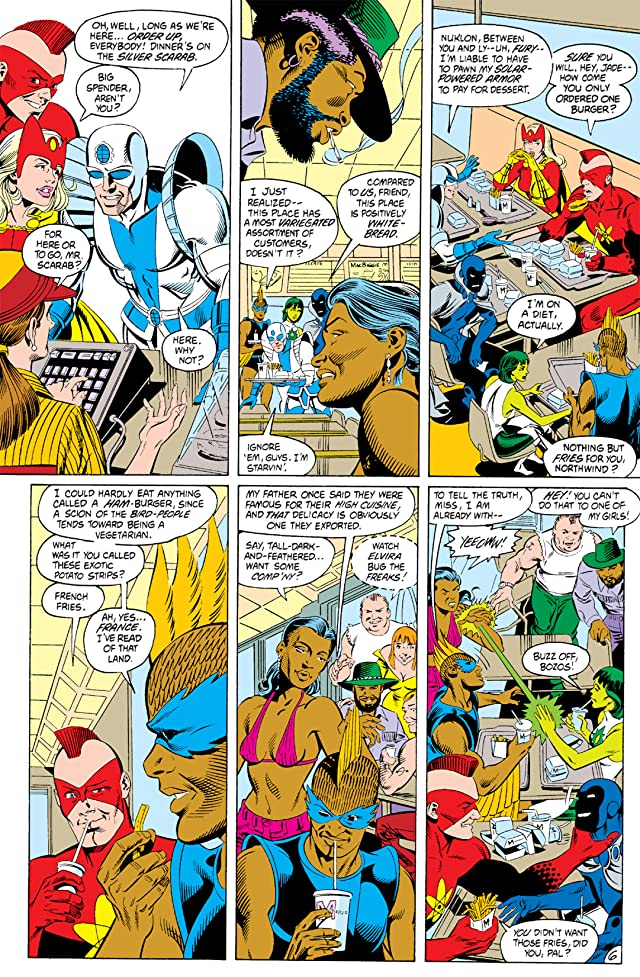 click for super-sized previews of Infinity Inc. (1984-1988) #2