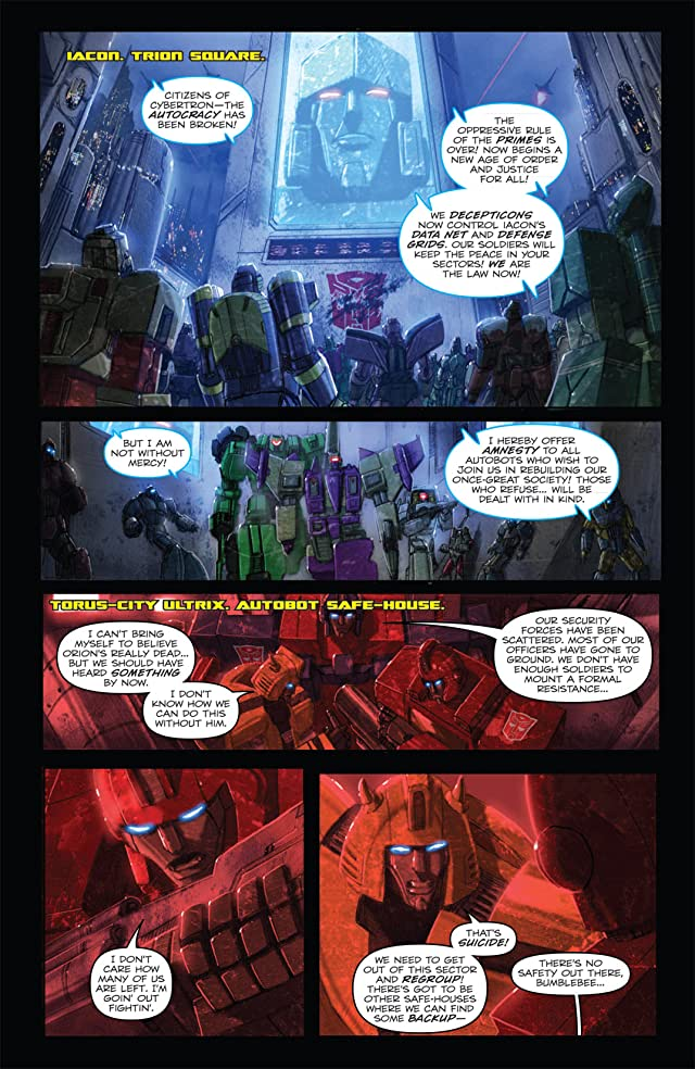 click for super-sized previews of Transformers: Autocracy #9