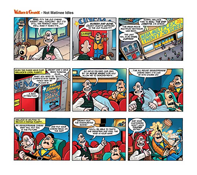 click for super-sized previews of Wallace & Gromit Dailies #8