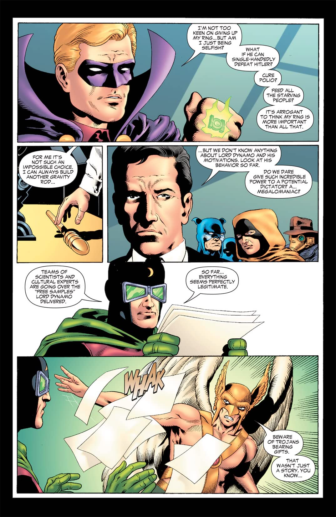 JSA: Strange Adventures #3 (of 6)