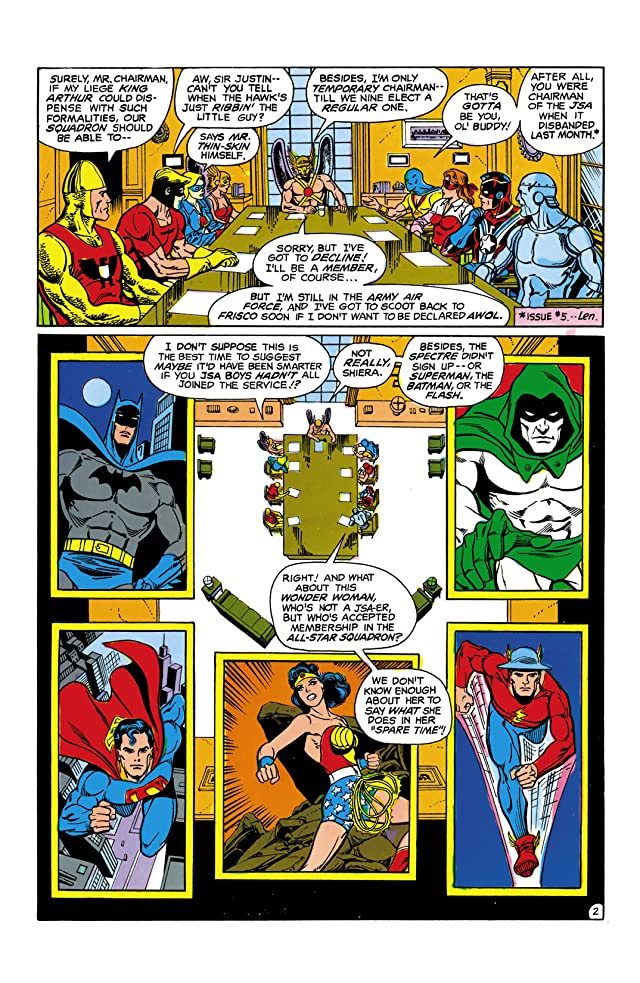 click for super-sized previews of All-Star Squadron #13