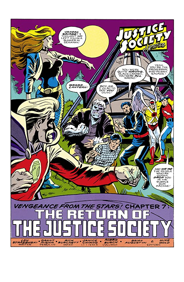 Justice Society of America (1991) #7