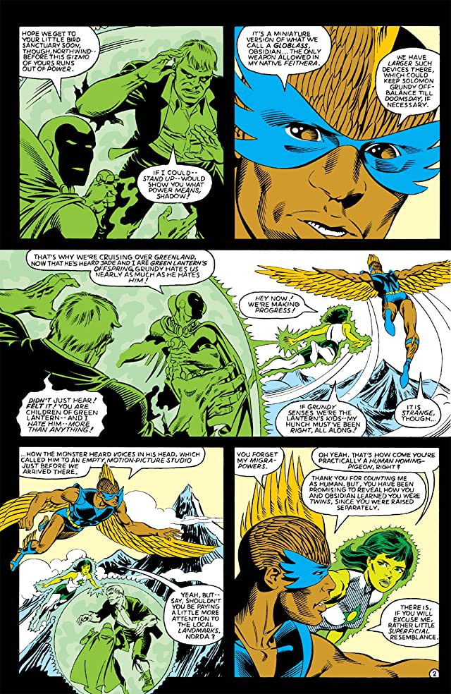 click for super-sized previews of Infinity Inc. (1984-1988) #4