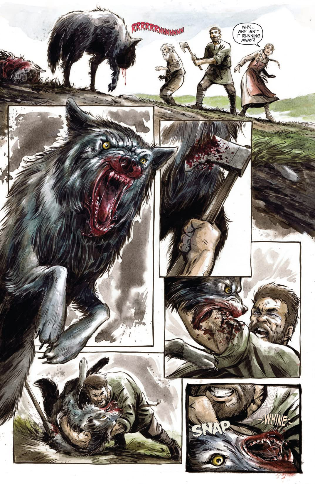 Night of 1,000 Wolves #1 (of 3)