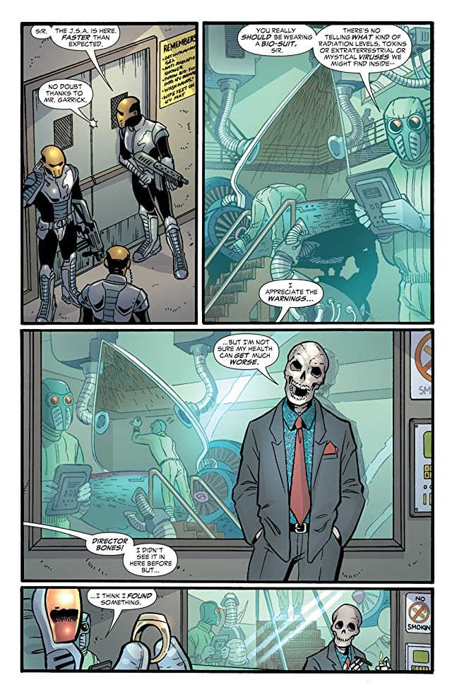 click for super-sized previews of JSA: Classified #2
