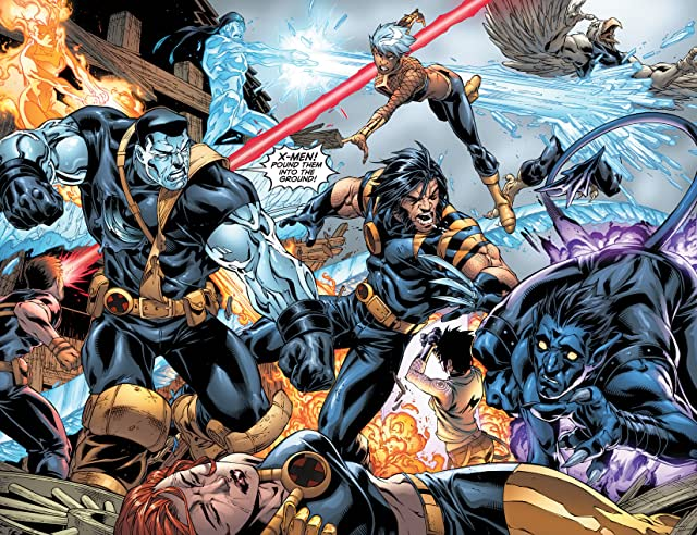 click for super-sized previews of Ultimate X-Men #97