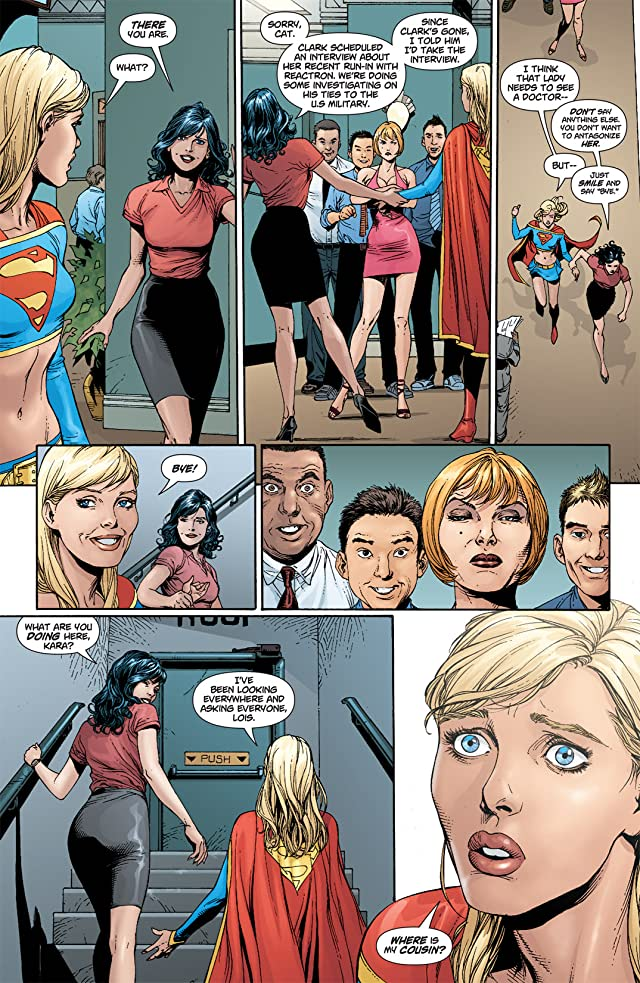 click for super-sized previews of Action Comics (1938-2011) #868