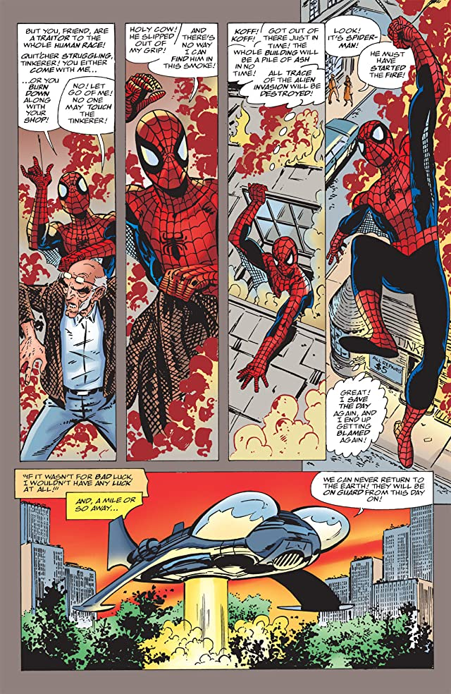 click for super-sized previews of Spider-Man: Chapter One #3
