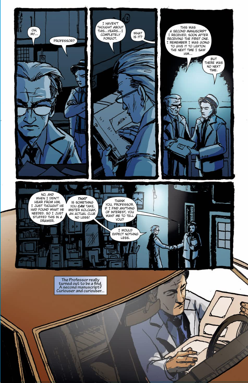 Sherlock Holmes & Kolchak: The Night Stalker #3 (of 3)