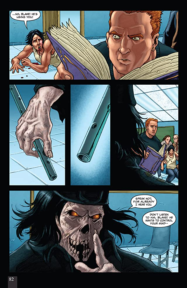 click for super-sized previews of Grimm Fairy Tales: The Piper #4