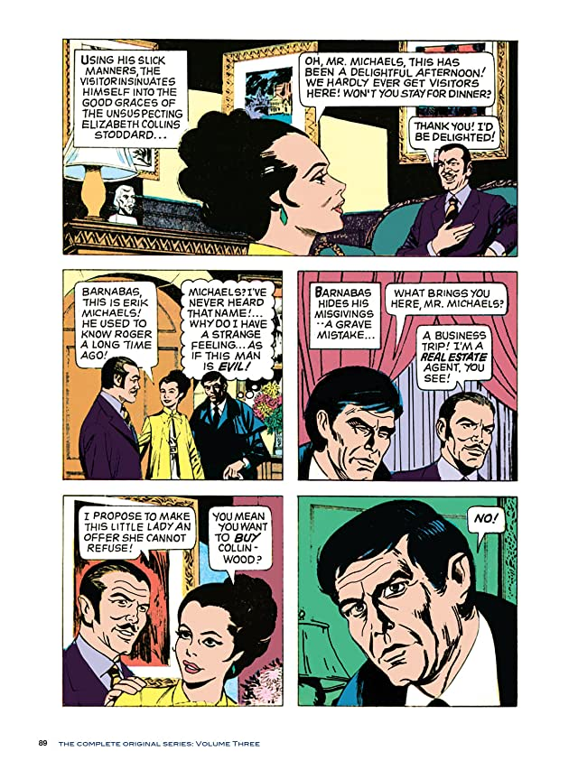 click for super-sized previews of Dark Shadows #18