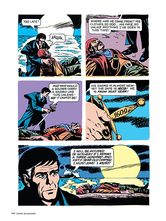 click for super-sized previews of Dark Shadows #19
