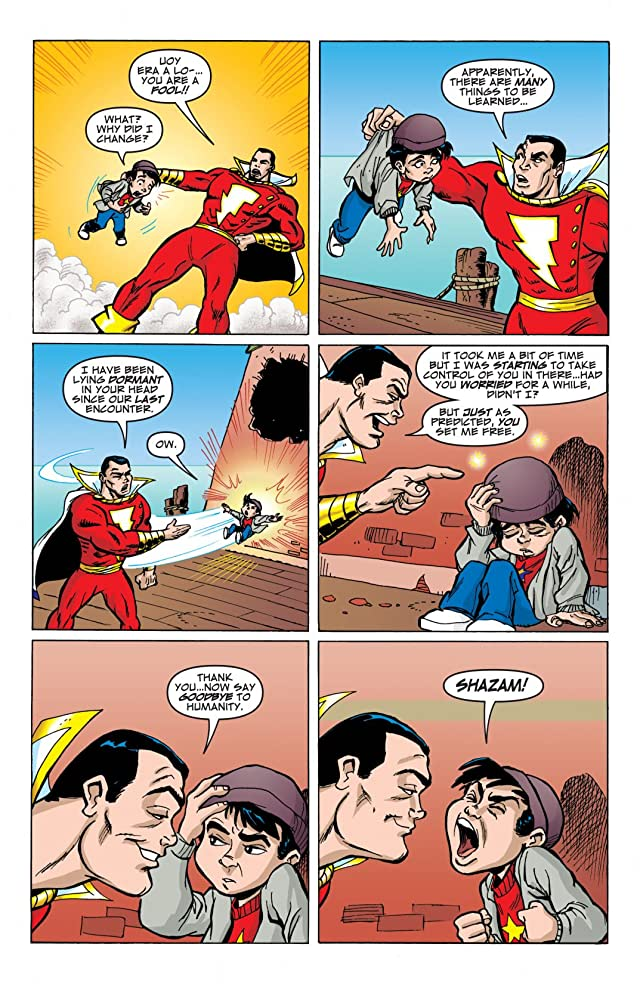 click for super-sized previews of Billy Batson and the Magic of Shazam! #12