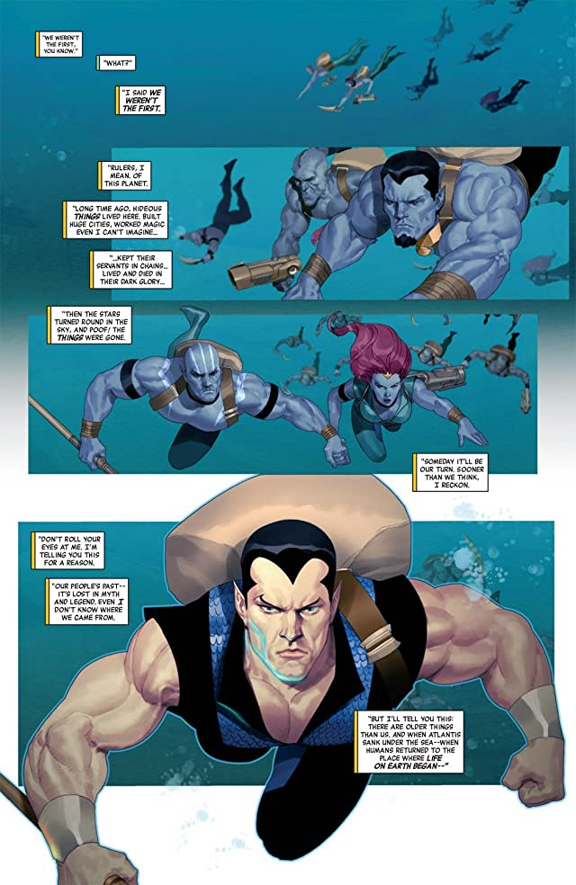 click for super-sized previews of Namor: The First Mutant #3