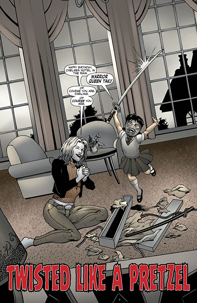 click for super-sized previews of Garth Ennis' Ninjettes #4