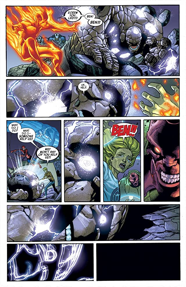 click for super-sized previews of Ultimate Comics Enemy #4