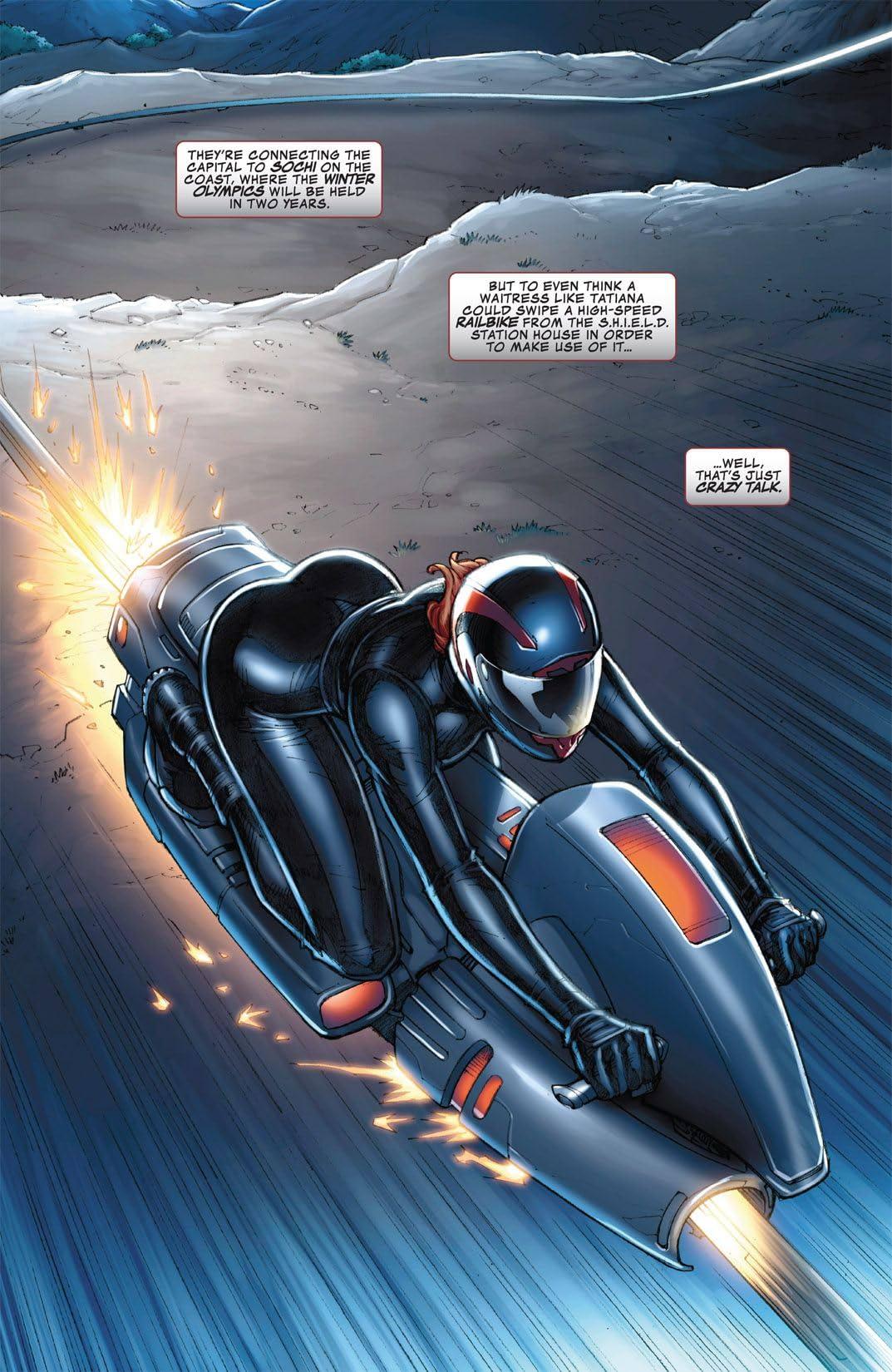 Marvel's the Avengers: Black Widow Strikes #2 (of 3)
