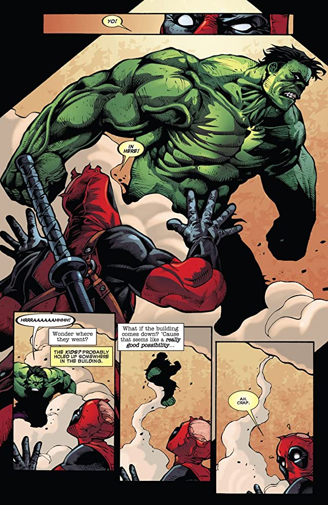 click for super-sized previews of Deadpool (2008-2012) #39