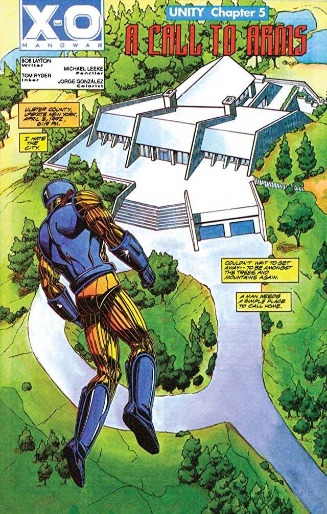 click for super-sized previews of X-O Manowar (1992-1996) #7
