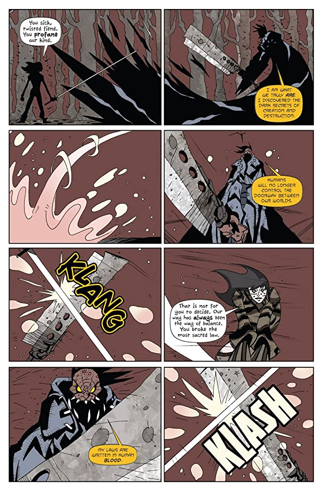 click for super-sized previews of The Claw & Fang #4