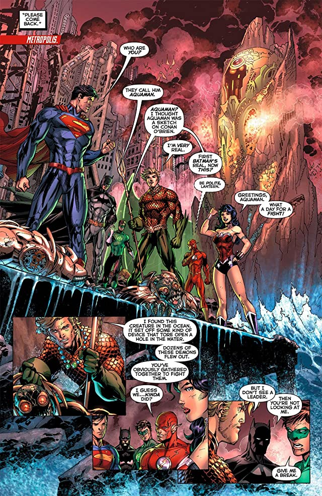 Justice League (2011-) #4