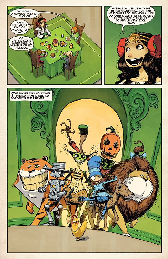 click for super-sized previews of Dorothy and the Wizard In Oz #7 (of 8)