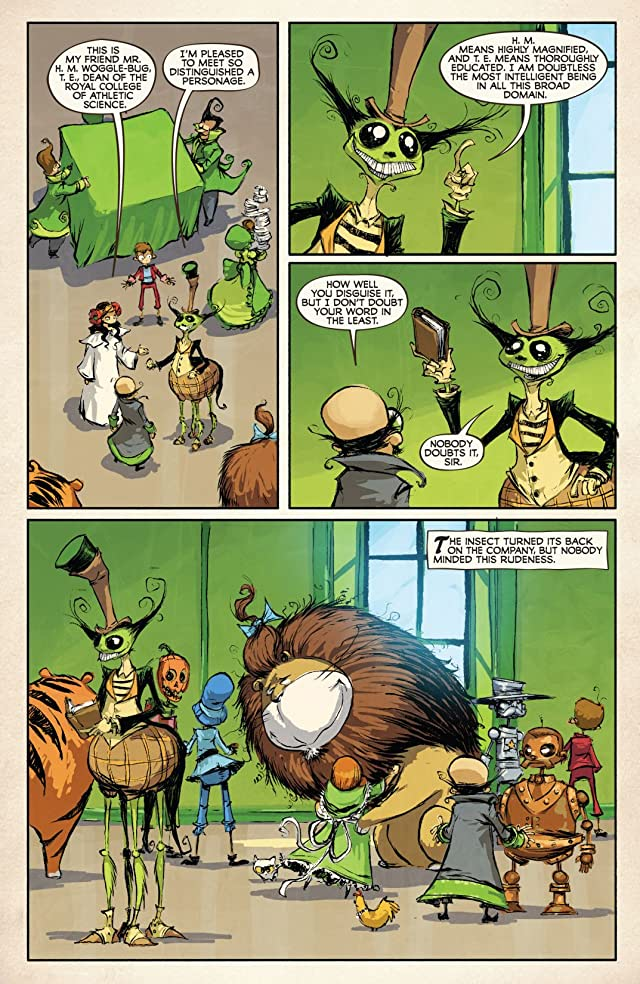 click for super-sized previews of Dorothy and the Wizard In Oz #7