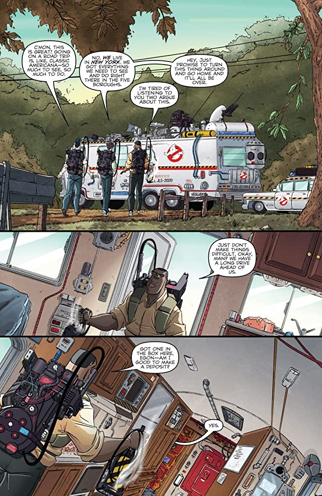 click for super-sized previews of Ghostbusters (2011-2012) #9