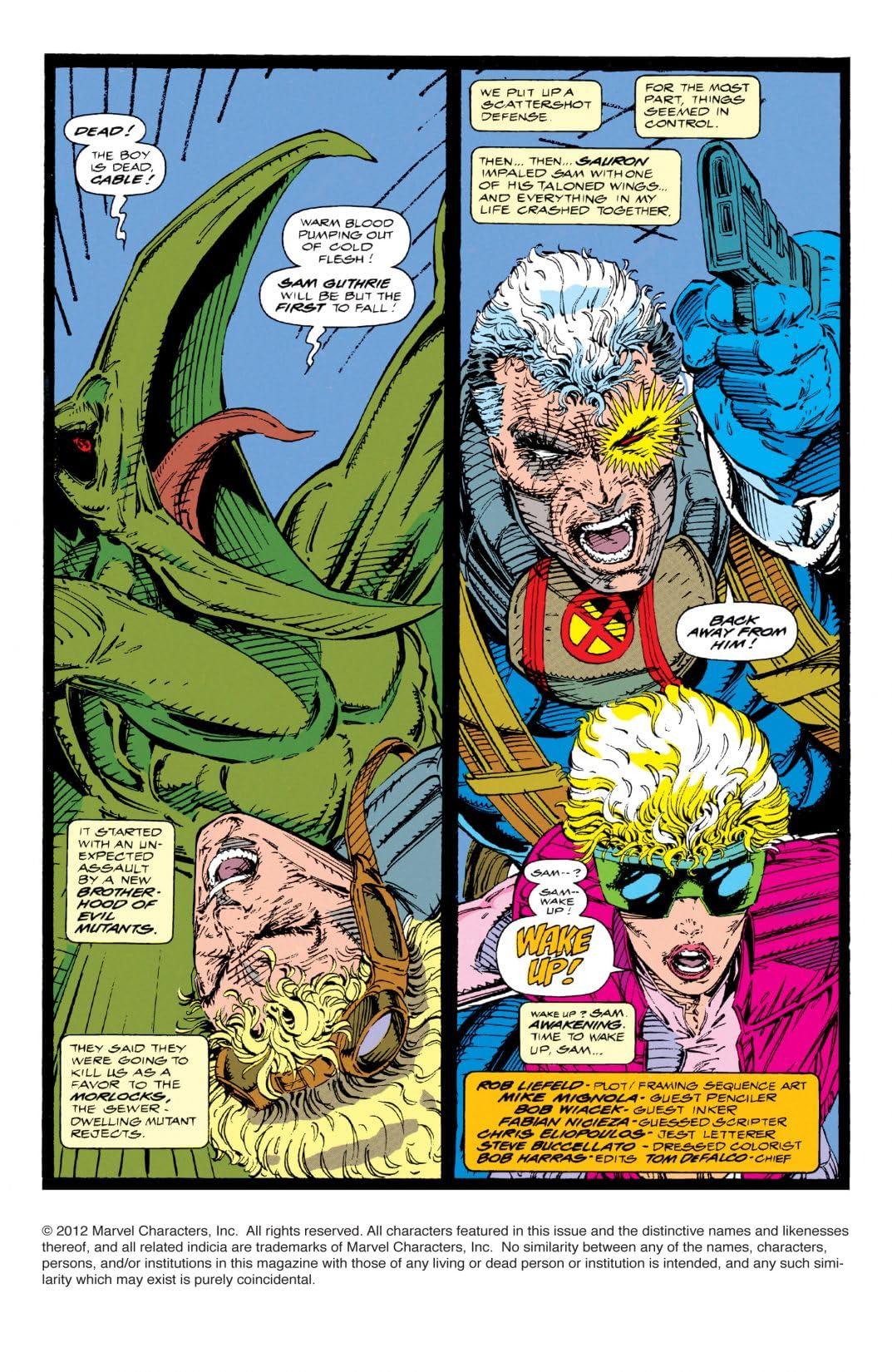 X-Force (1991-2002) #8