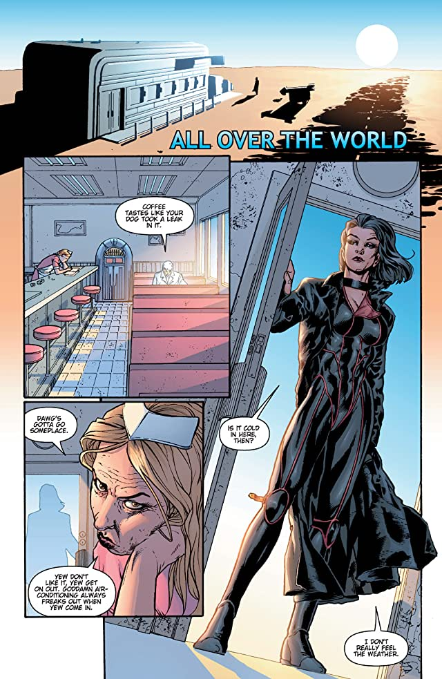 click for super-sized previews of Planetary #1
