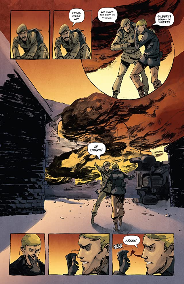 click for super-sized previews of Peter Panzerfaust #13