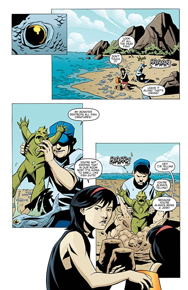 click for super-sized previews of Godzilla: Kingdom of Monsters #1