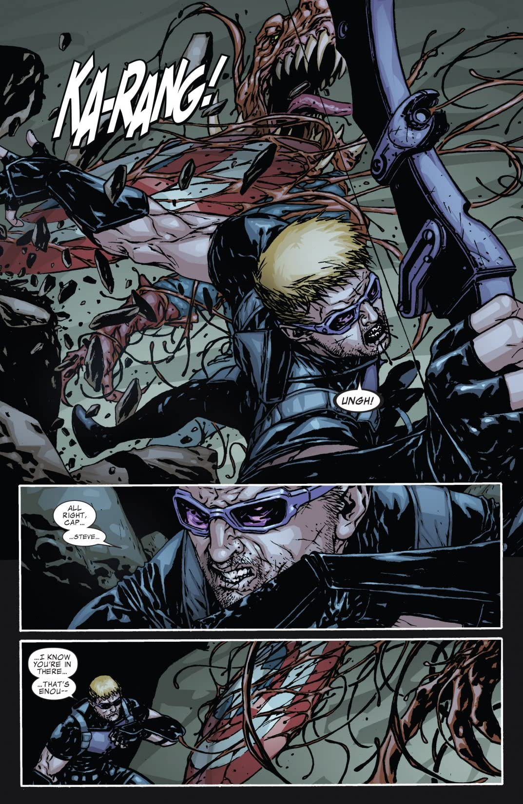 Captain America and Hawkeye #631
