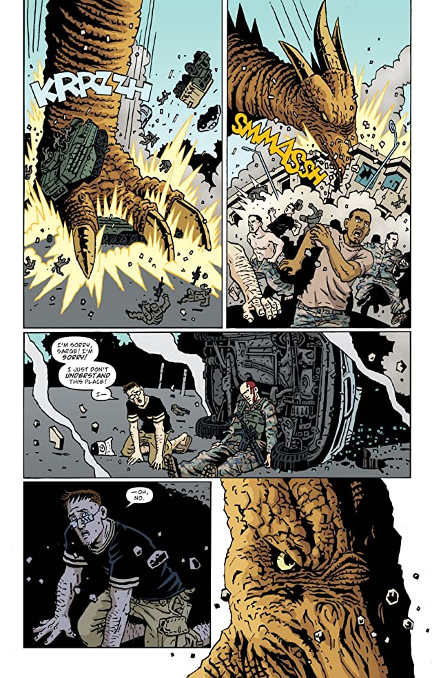 click for super-sized previews of Godzilla Legends #2