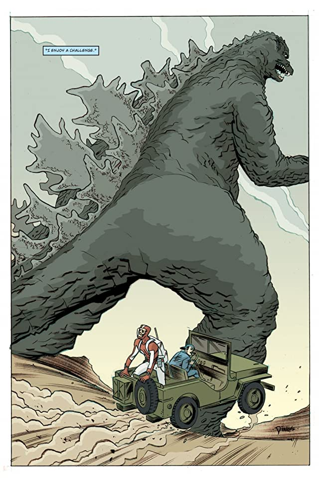 click for super-sized previews of Godzilla Legends #5
