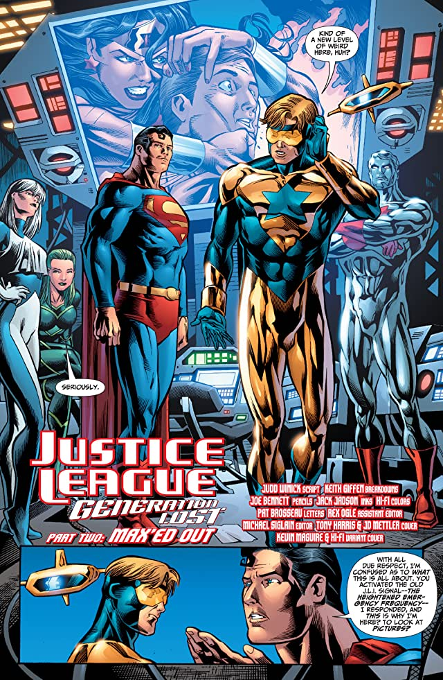 click for super-sized previews of Justice League: Generation Lost #2