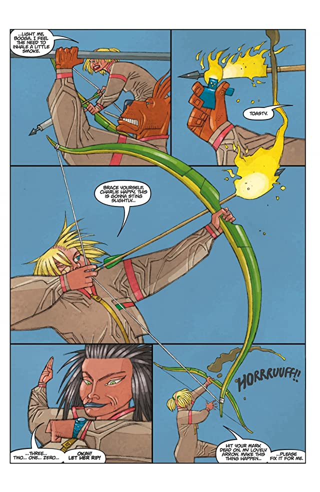 click for super-sized previews of Tank Girl: Carioca #2
