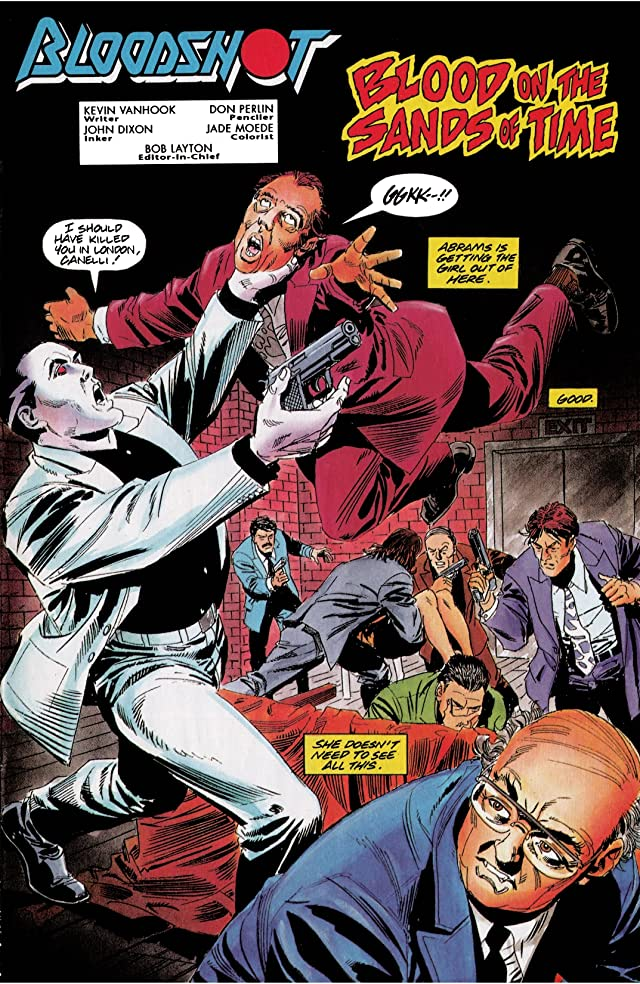 click for super-sized previews of Bloodshot (1993-1996) #5