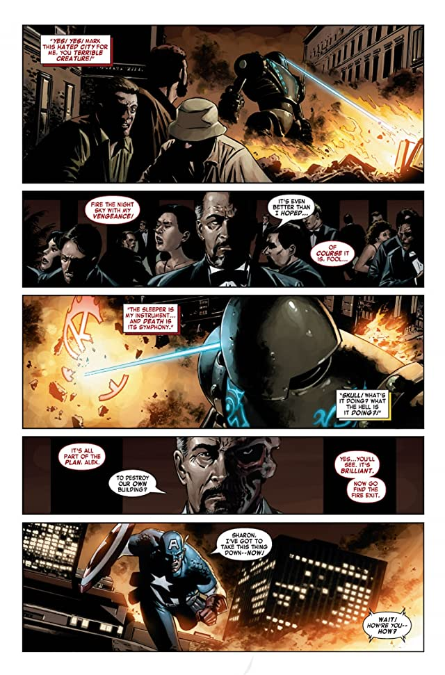 click for super-sized previews of Captain America (2004-2011) #21